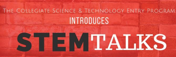 STEM Talks with Faculty and Students